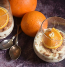 Narancsos mascarponés pohárkrém roppanós keksszel