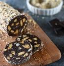 Őrülten finom: Nutellás-mogyorós kekszszalámi