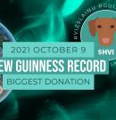 Kutyatáp Guinness és magyar rekordot állítottak be