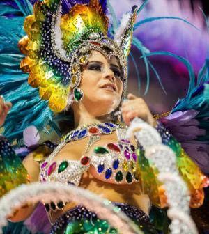 Mindjárt kezdődik a karnevál Rio de Janeiróban