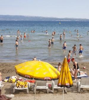 Hemzseg a turistáktól Horvátország