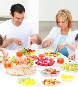 Háromfogásos ebéd egy négyfős családnak