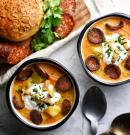 Krumplileves gazdagon a hűvös napokra