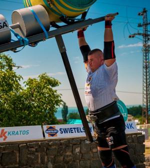 Strongman: Juhász Péter meghívót kapott a Bajnokok Ligájába