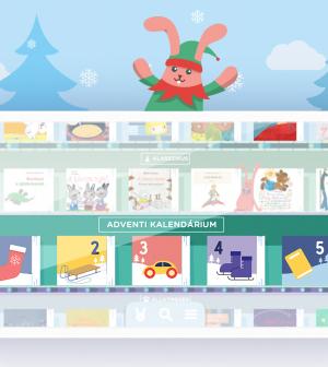 Ingyenes adventi mesekalendáriummal hangolódik a BOOKR Kids a karácsonyra