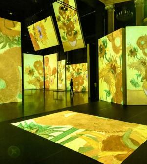 Van Gogh Londonban, Giacometti Monacóban